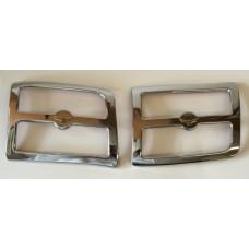 1800 01-05 Chrome Rear Speaker Grills