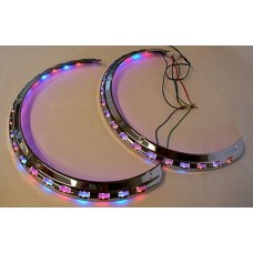 1800 Red, Blue, & Amber LED Light Rings