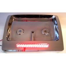GL1800 Chrome LED Lighted Filler Plate