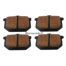 Brake pads GL1000 75-77 front sets