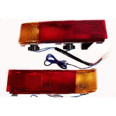 Light set, saddlebag turn signal/running GL1500 AMBER