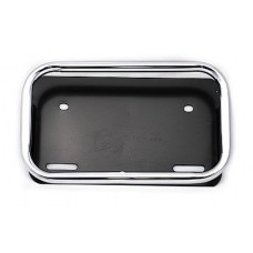 License plate holder, tube frame