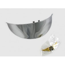Headlight visor with curved emblem GL1000 GL1100