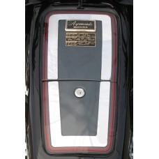 Trim, tank top GL1200 stainless