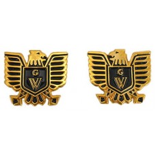 Right/Left emblem set, eagle & black GW